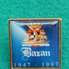 Militaria: PIN DE LA EMPRESA NACIONAL BAZAN....CONSTRUCCIONES NAVALES.. Lote 178329573