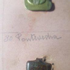 Militaria: EMBLEMA AUXILIO SOCIAL PONTEVEDRA. Lote 178625731
