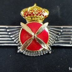 Militaria: ROQUISQUI AVIACION PILOTOS EN METAL. Lote 178687333