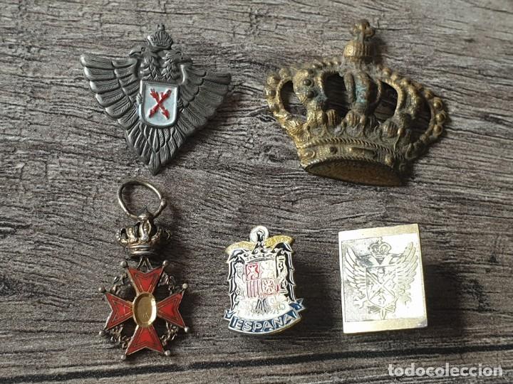 LOTE INSIGNIAS GUERRA CIVIL (Militar - Insignias Militares Españolas y Pins)