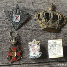 Militaria: LOTE INSIGNIAS GUERRA CIVIL. Lote 178760196
