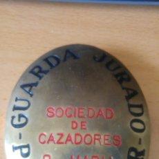 Militaria: GUARDA JURADO CAZADORES. Lote 178785207