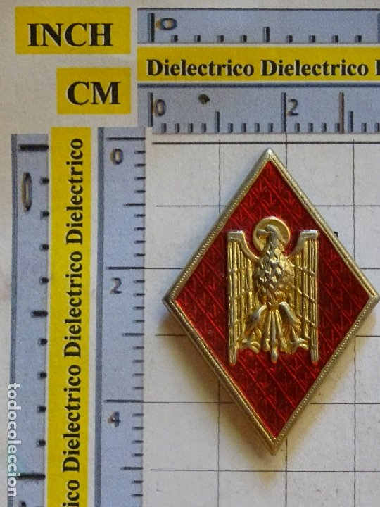 ANTIGUA INSIGNIA ROMBO MILITAR POLICIAL. POLICÍA ARMADA - NACIONAL (Militar - Insignias Militares Españolas y Pins)