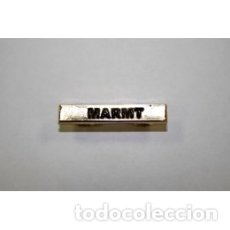 Militaria: BARRA MISION MARMT EN METAL. Lote 179054341