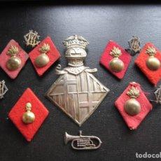 Militaria: LOTE DE INSIGNIAS VARIAS EPOCAS. Lote 179145712