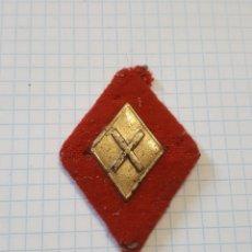 Militaria: ROMBO DE DEFENSA QUÍMICA, DE TELA. Lote 179245667