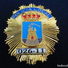 Militaria: PLACA DE PECHO DE POLICIA LOCAL DE MAZARRÓN (MURCIA).. Lote 179521357