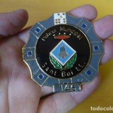 Militaria: * PLACA DE POLICIA DE SANT BOI DE LLOBREGAT, ORIGINAL. ZX. Lote 180143576
