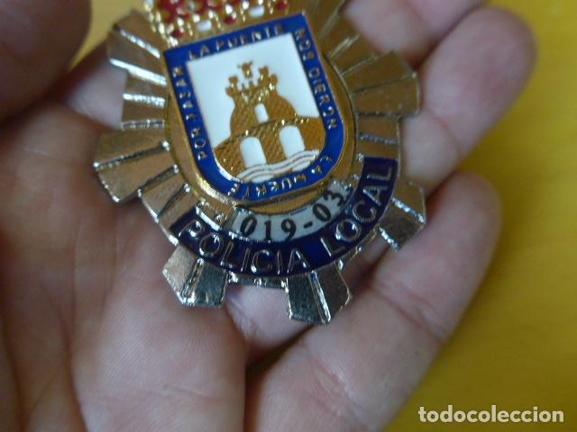 Militaria: * Placa de policia de cieza, murcia, original. ZX - Foto 2 - 180143778