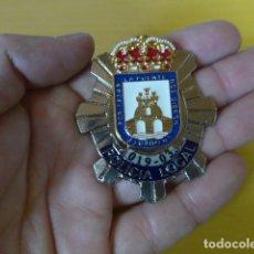 Militaria: * PLACA DE POLICIA DE CIEZA, MURCIA, ORIGINAL. ZX. Lote 180143778
