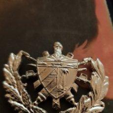 Militaria: CUBA INSIGNA ESCUDO GRANDE. Lote 180250992