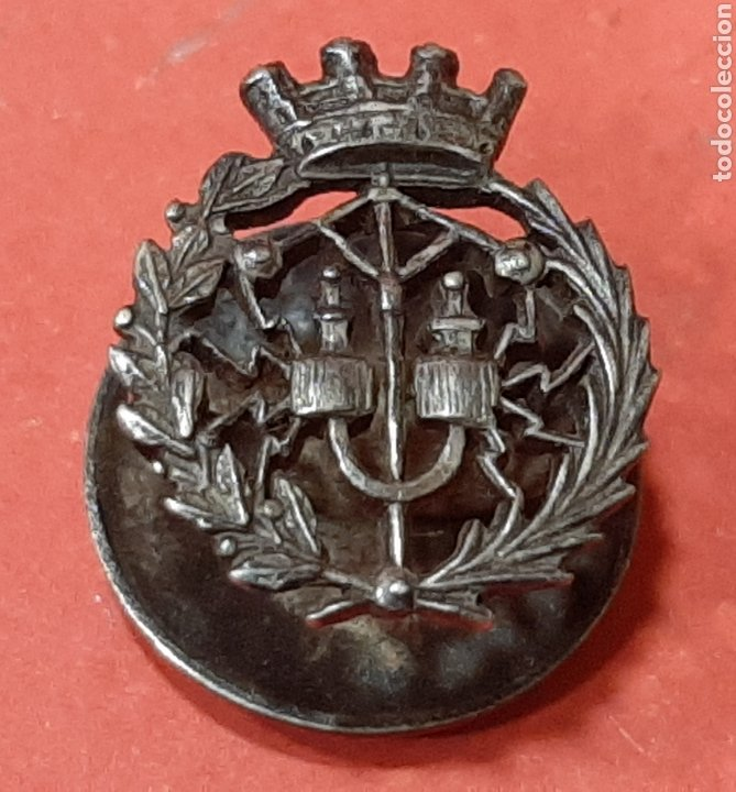 REPÚBLICA. INSIGNIA DE SOLAPA DE PLATA. (Militar - Insignias Militares Españolas y Pins)