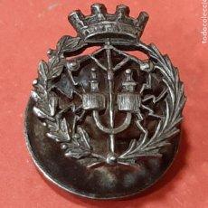 Militaria: REPÚBLICA. INSIGNIA DE SOLAPA DE PLATA.. Lote 180448666
