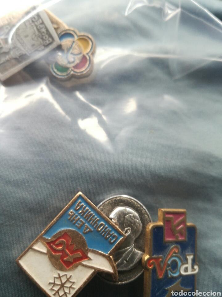 Militaria: Lote de 5 pins insignias Rusia Union Sovietica - Foto 4 - 180842461