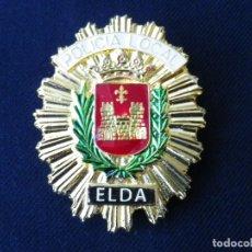 Militaria: PLACA DE PECHO POLICIA LOCAL DE ELDA (ALICANTE).. Lote 180882115