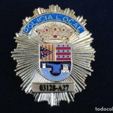 Militaria: PLACA DE PECHO POLICIA LOCAL DE TEULADA (ALICANTE).. Lote 180882835