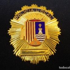 Militaria: PLACA DE PECHO POLICIA LOCAL DE JAVEA (ALICANTE).. Lote 180882986