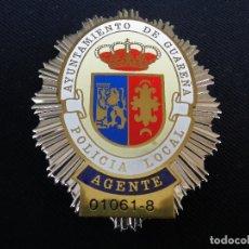 Militaria: PLACA DE PECHO POLICIA LOCAL DE GUAREÑA (BADAJOZ).. Lote 180883308
