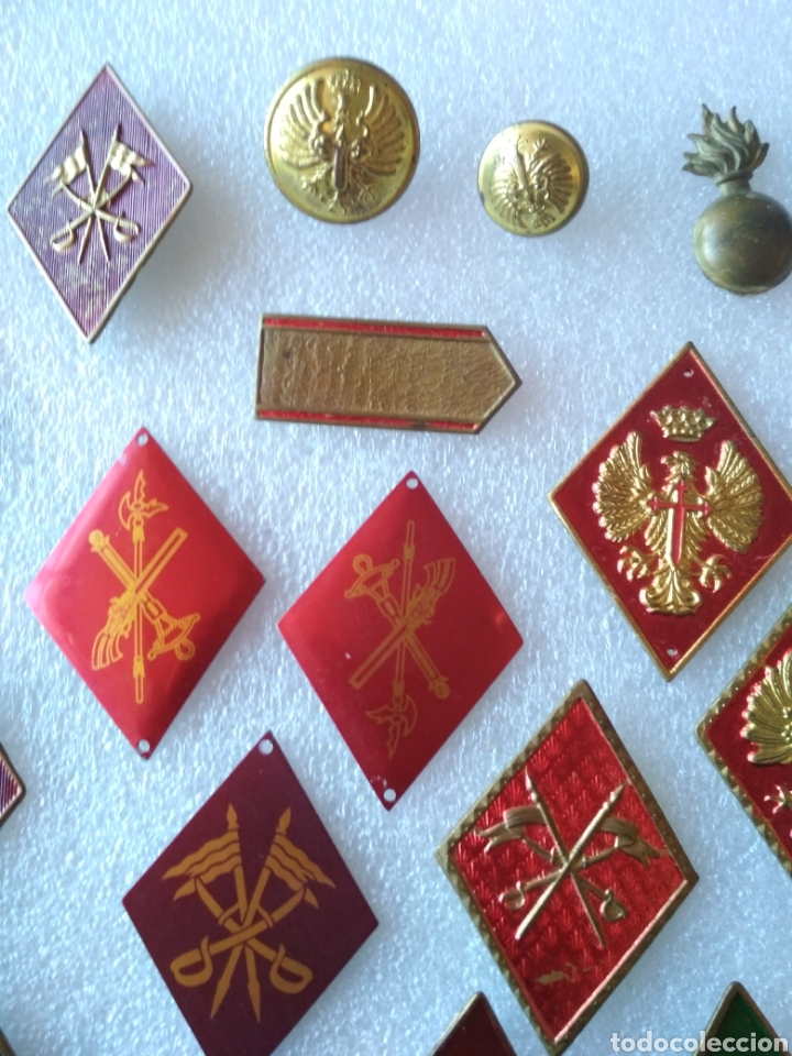 Militaria: Lote de insignias militares - Foto 3 - 181106105