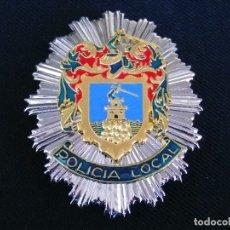 Militaria: PLACA DE PECHO DE POLICIA LOCAL DE MAZARRÓN (MURCIA).. Lote 181151370