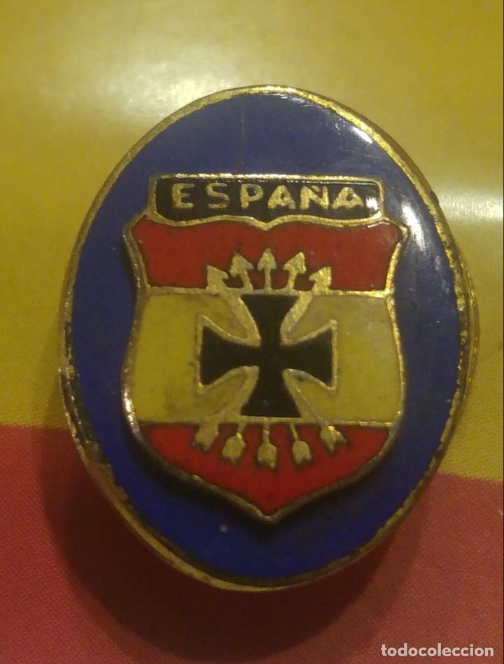 EMBLEMA DIVISION AZUL (Militar - Insignias Militares Españolas y Pins)