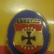 Militaria: EMBLEMA DIVISION AZUL. Lote 181412261
