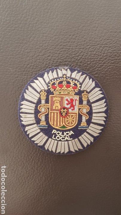 PLACA INSIGNIA POLICÍA LOCAL (Militar - Insignias Militares Españolas y Pins)