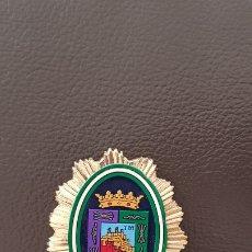 Militaria: ANTIGUA PLACA POLICÍA LOCAL MÁLAGA INSIGINIA ANDALUCÍA. Lote 182052246