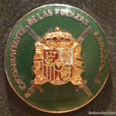 Militaria: INSIGNIA DE SOLAPA EXCOMBATIENTES DE LAS FUERZAS ESPAÑOLAS. Lote 182286878