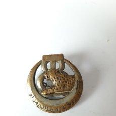 Militaria: FRANCIA / TÚNEZ. DISTINTIVO 8 REGIMIENTO DE FUSILEROS TUNECINOS. Lote 182352228