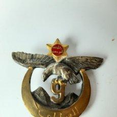 Militaria: FRANCIA / ARGELIA. DISTINTIVO 9 REGIMIENTO DE FUSILEROS ARGELINOS. Lote 182352388