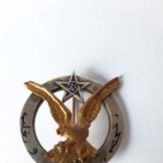 Militaria: FRANCIA / MARRUECOS. DISTINTIVO 3 REGIMIENTO DE FUSILEROS MARROQUÍES. Lote 182354261