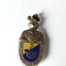 Militaria: FRANCIA / INSIGNIA DEL 2 REGIMIENTO DE CAZADORES DE ÁFRICA.. Lote 182386536