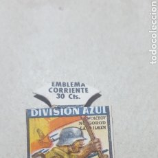 Militaria: DIVISION AZUL. EMBLEMA CORRIENTE SOCIAL. Lote 182518081