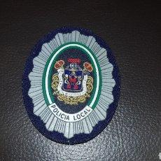 Militaria: PLACA DE LA POLICÍA LOCAL EMBLEMA CON ALFILER INSIGNIA. Lote 182740352