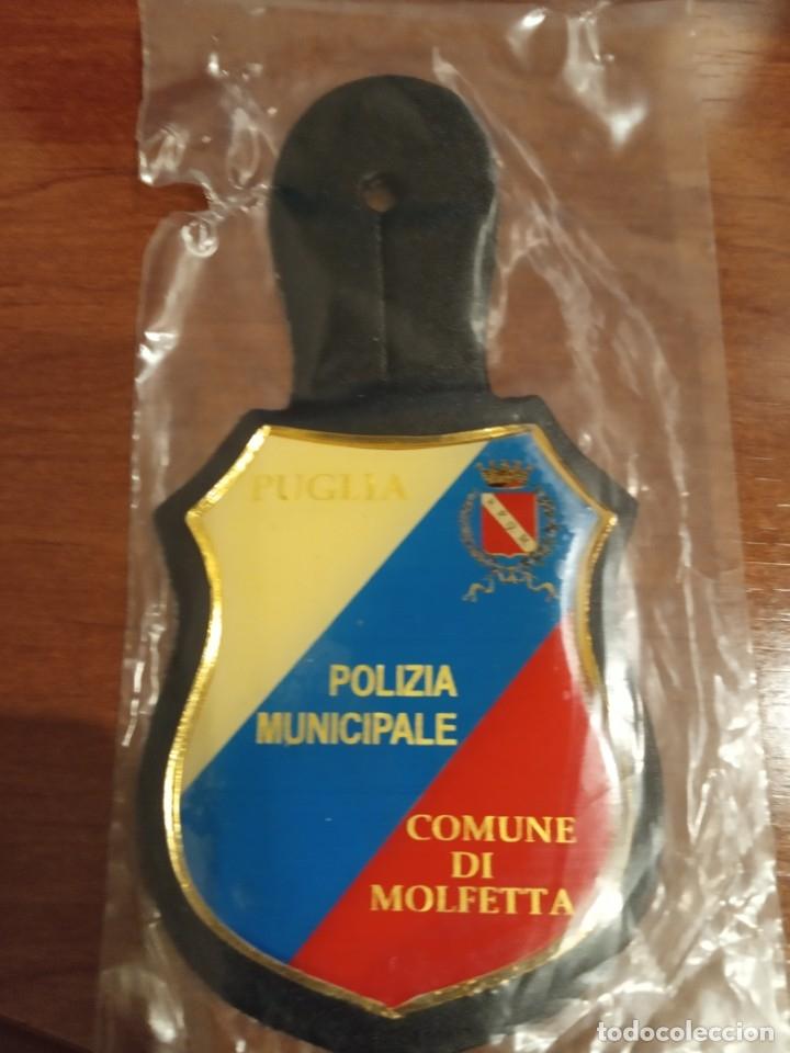 ITALIA - POLICIA MUNICIPAL (Militar - Insignias Militares Extranjeras y Pins)