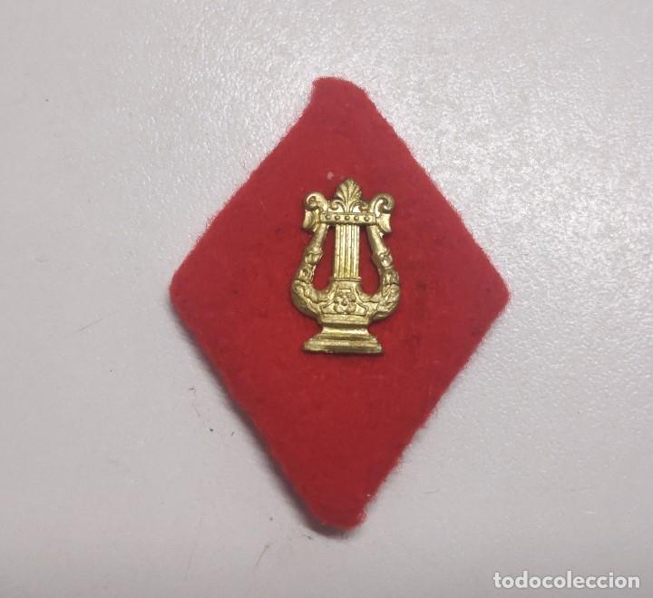 ROMBO PAÑO MUSICA (Militar - Insignias Militares Españolas y Pins)