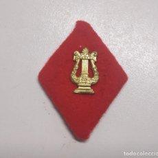 Militaria: ROMBO PAÑO MUSICA. Lote 182989507