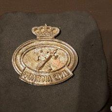 Militaria: EMBLEMA INSIGNIA DE LA GUARDIA CIVIL. Lote 183283491