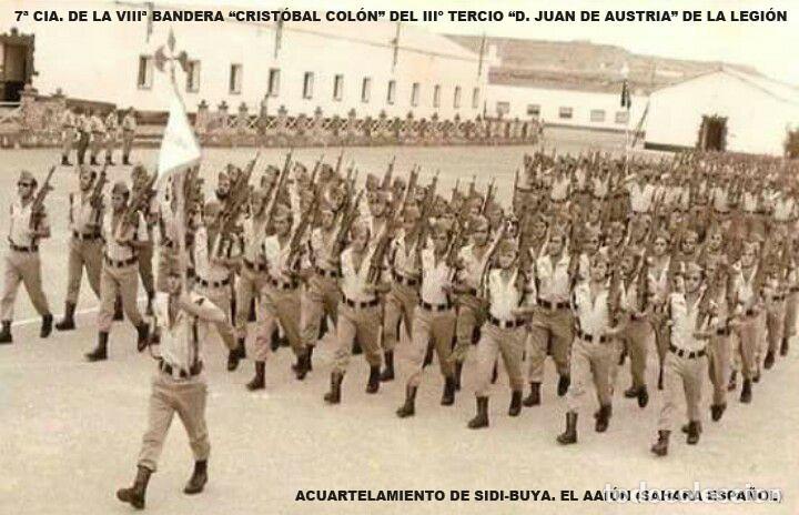 Militaria: Pepito VIIIª Bandera Cristóbal Colón Tercio Sahariano Juan de Austria 3º de la Legión. 1975 - Foto 10 - 183541530