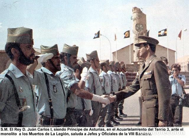 Militaria: Pepito VIIIª Bandera Cristóbal Colón Tercio Sahariano Juan de Austria 3º de la Legión. 1975 - Foto 12 - 183541530