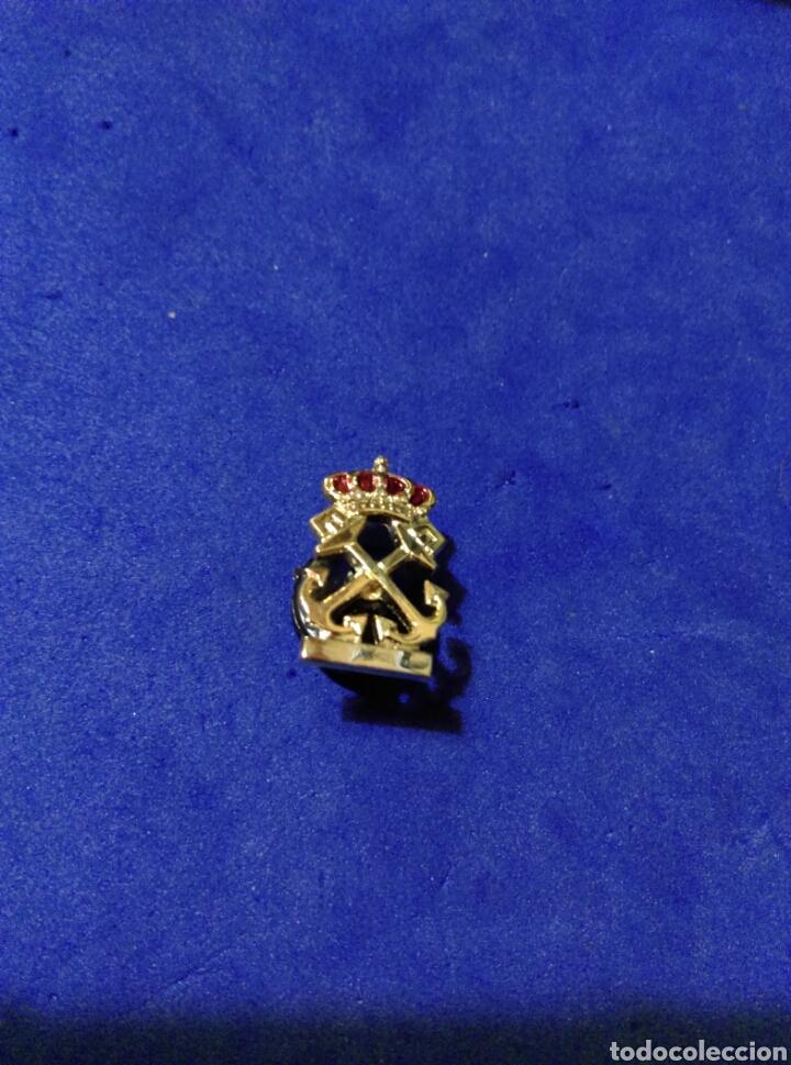 Militaria: Pin Insignia de Escuela Naval o Marina Mercante distintivo solapa I Patrón de Embarcaciones - Foto 2 - 167483628