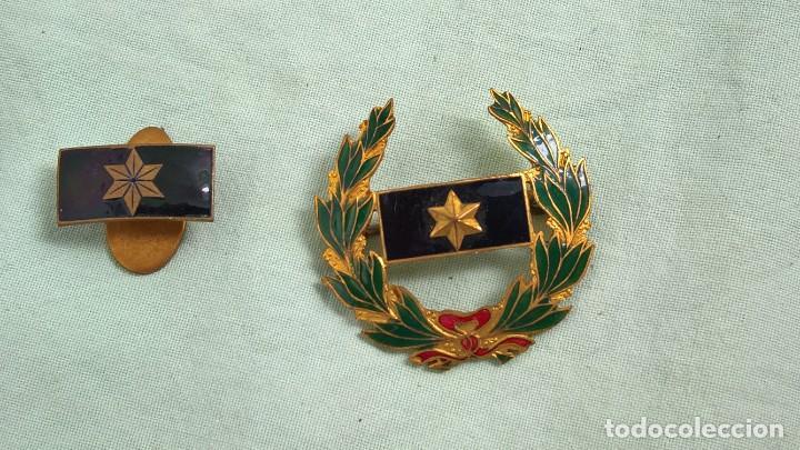Militaria: Alferez Provisional..Insignias Esmaltadas..Guerra Civil, Viuda e Hijo de Alferez caido en guerra. - Foto 4 - 183976826