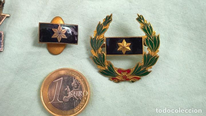 Militaria: Alferez Provisional..Insignias Esmaltadas..Guerra Civil, Viuda e Hijo de Alferez caido en guerra. - Foto 5 - 183976826