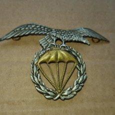 Militaria: BONITO EMBLEMA DE GORRA BRIGADA PARACAIDISTA DEL EJERCITO DEL AIRE. Lote 184057796