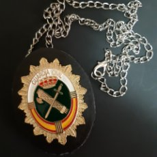 Militaria: PLACA GUARDIA CIVIL EN PORTA. Lote 184292476