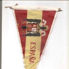 Militaria: 5. BANDERIN DE ESPAÑA. TELA DE SEDA. ORIGINAL. Lote 184373195