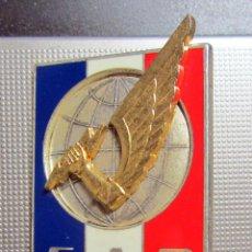 Militaria: INSIGNIA MILITAR VINTAGE FRANCESA FAR FORCE D'ACTION RAPIDE DRAGO NOISIEL MARNE LA VALLEE G 3158. Lote 184571171