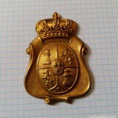 Militaria: CHAPA DE PRENDA DE CABEZA, ÉPOCA DE ALFONSO XIII. Lote 15027795