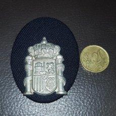 Militaria: ANTIGUO DISTINTIVO EMBLEMA DE GORRA POLICÍA LOCAL. Lote 186076585